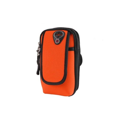 Men/Women Fitness Wrist Bag Running Traveling Hiking Mobile Phone Arm Pack_A12