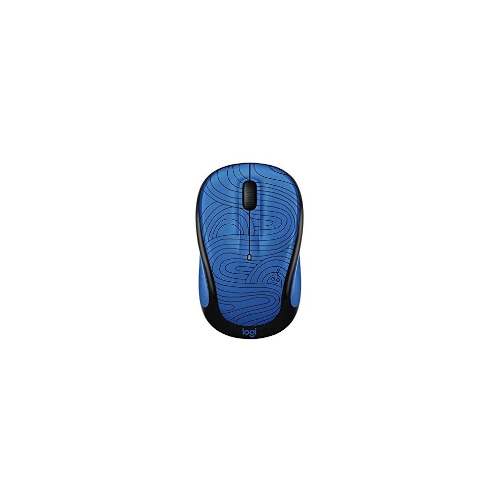 Logitech M325c Wireless Mouse Deep Blue Bot