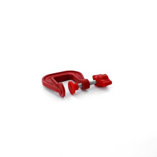 25mm Lightweight Plastic G-clamp -  modelcraft plastic 25mm spcl3025 gclamps modelling tools