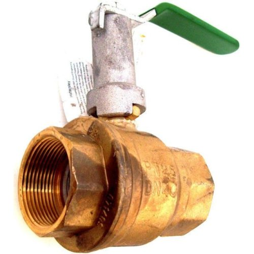 Hattersley 100Ext Extended Lever Operated PN25 Brass Ball Valve 38mm 1 1/2 ""