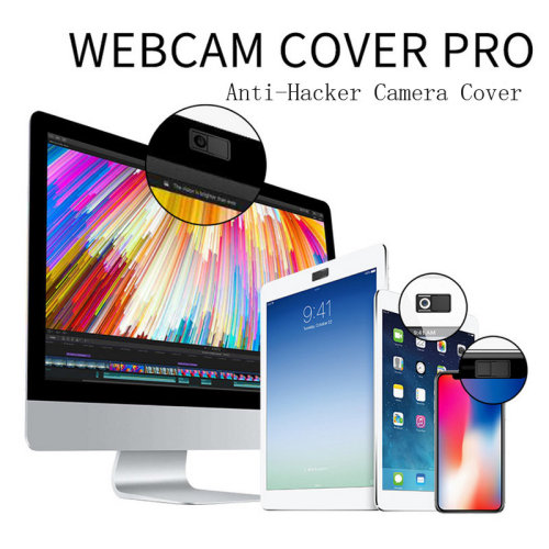 ComSafe Vision 3pc Webcam Cover Set | Device Camera Covers