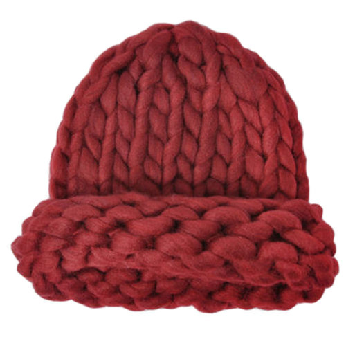 5577bab9ec5f1 Warm Braided Beanie Hat Snow Braid Cap Knit Hats for Winter on OnBuy