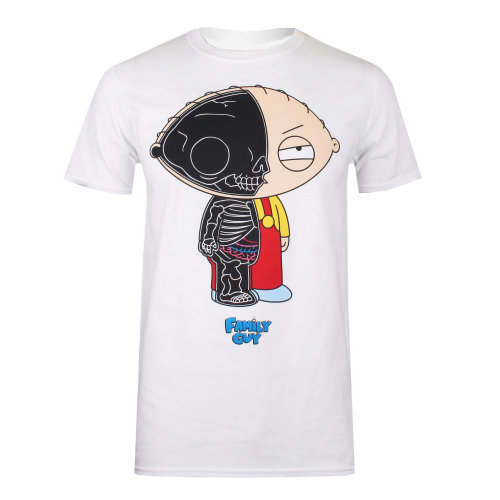 47452fdb5294 Family Guy Stewie Anatomy Mens T-shirt White on OnBuy