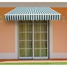 Outsunny 3m X 2.5m Garden Awning with Winding Handle