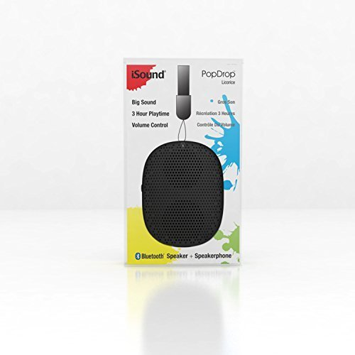 iSound PopDrop Wireless Speaker Licorice