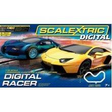 Scalextric Digital 1:32 Scale Racer Race Set -