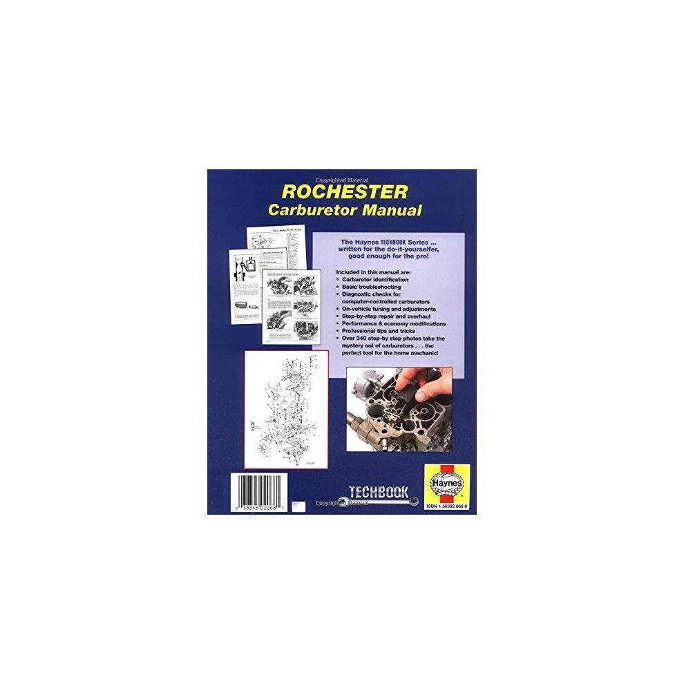 Rochester Carburetor Manual (Haynes Techbooks)