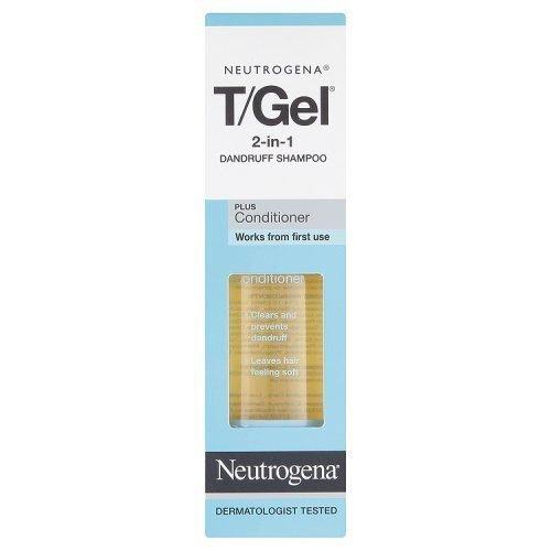 Neutrogena T/Gel 2-in-1 Dandruff Shampoo, 250 ml