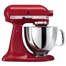 KitchenAid 5KSM150PSBER Artisan Stand Mixer 4.8 Litre Bowl Tilt Head 300W Red