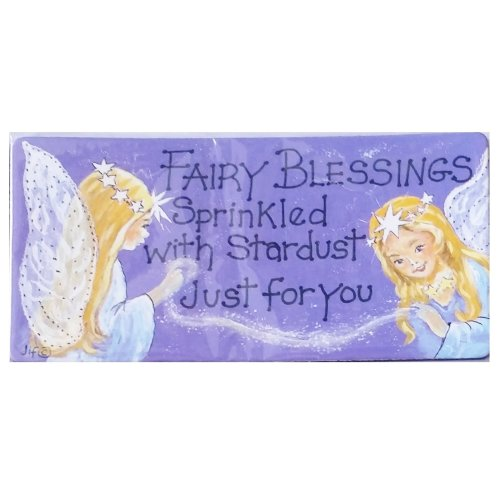 Fairy Blessings Fridge Magnet Fun Funny Novelty Gift Humour Humourous Quotes Joke Kitchen Gift