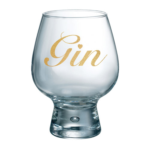 Durobor Fjord Individual Gin Glass, Gold