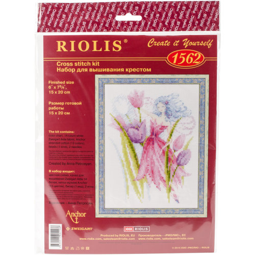"""Spring Breeze Fairy Counted Cross Stitch Kit-6""""X8"""" 14 Count"""