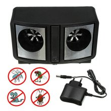 Dual Sonic Ultrasonic Pest Rats Mice Mosquito Insect Control Repellent