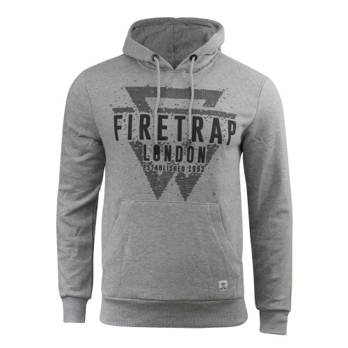 Mens hoodie firetrap orono top