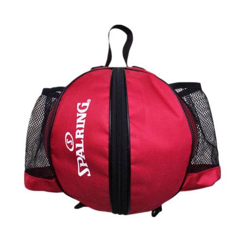 Fashion Cool Basketball Bag Training Bag Single-shoulder Soccer Bag-Red