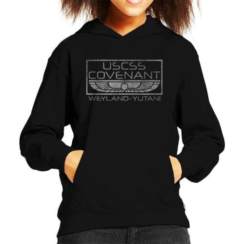 Alien Inspired USCSS Covenant Kid's Hooded Sweatshirt
