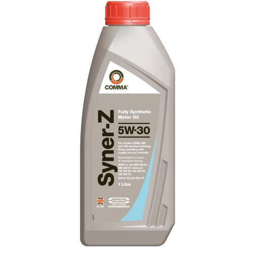 Comma SYZ1L 1L Syner-Z Fully Synthetic 5W30 Motor Oil