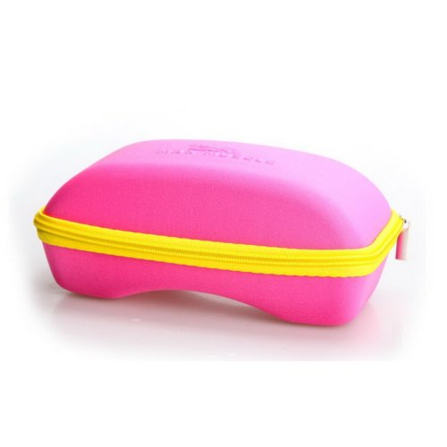 Large Goggle Case Solid Pink Zipper Box Snow Goggle Box