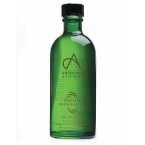 Absolute Aromas De-stress Bath & Massage Oil 100ml