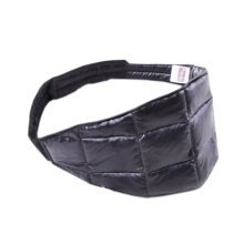 DOWN Waist Belt Light Keep Your WAIST/STOMACH/TUMMY Warm BLACK