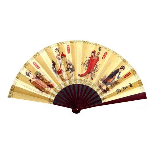 Chinese Traditional Folding Fan Hand Fan Handmade Bamboo Fan,S3