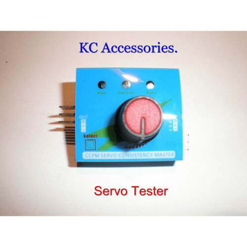Multi Servo Tester 3CH ESC Speed Controller Tester.