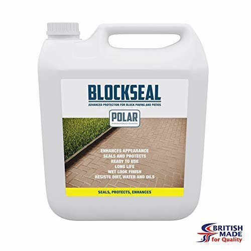 Polar  Patio and Paving Block Sealer Protector- 5 litre