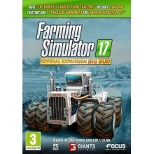 Farming Simulator 17 Official Expansion Big Bud PC CD Game