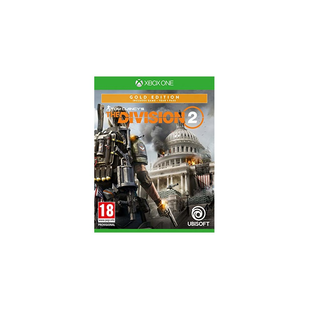 Tom Clancys The Division 2 Gold Edition Xbox One New