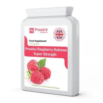 Prowise Raspberry Ketones 60 Capsules 600mg UK Made