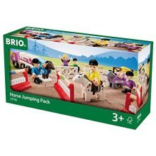 BRIO Countryside Horse Jumping Pack