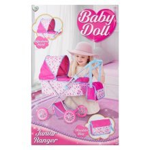 Children's Baby Dolls Pram and Shoulder Bag Play Set Girls Toy