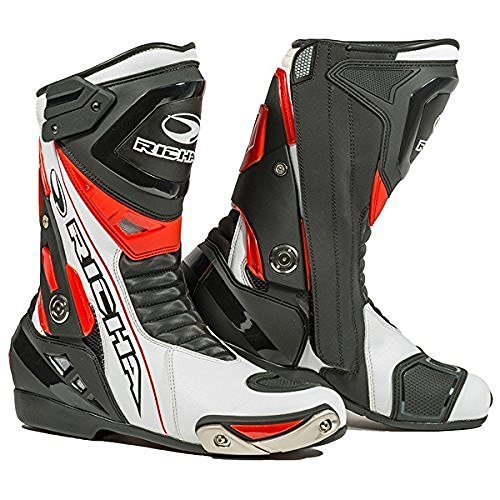 Richa Blade Red White Waterproof Motorcycle Boots