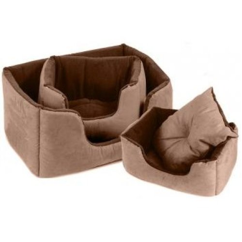 Chelsea Comfy Bed Chocolate Size 5 99x71cm