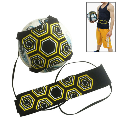 Football Training Ball Soccer Practice Kids Trainer Free Kick Ball Train Aid New