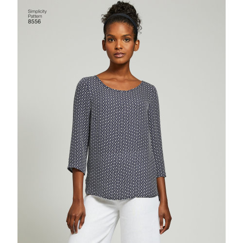 Simplicity Misses' Easy To Sew Separates-6-8-10-12-14