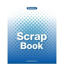 Stephens Scrapbook Ideal For Kids Crafts -  book paper fun activity scrap extra large color craft stephens scrapbook ideal kids crafts