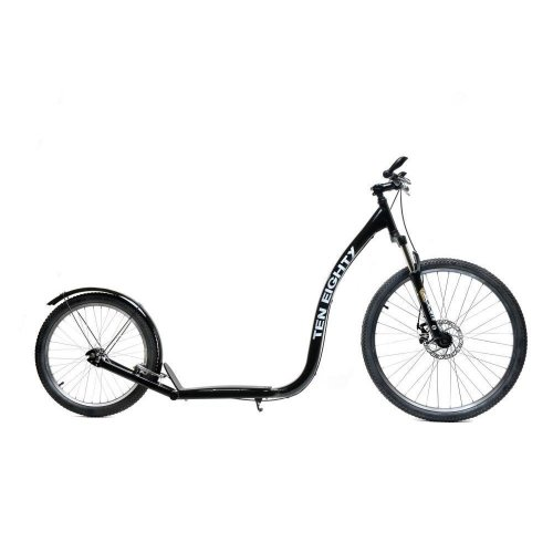 "1080 26"" / 20"" Wheel Adult Suspension Commuter Hybrid Kick Push Scooter"