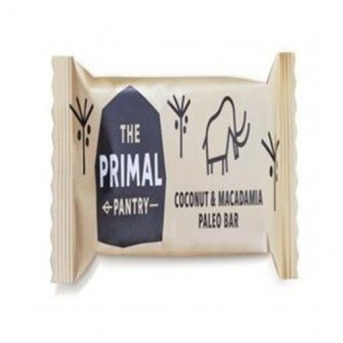 The Primal Pantry - Coconut & Macadamia Paleo Bar 45g (18 pack)