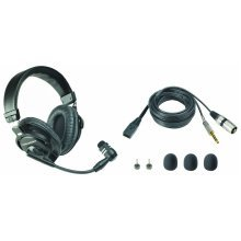 Audio-Technica Broadcast Stereo Headset with Dynamic Boom Mic - BPHS1