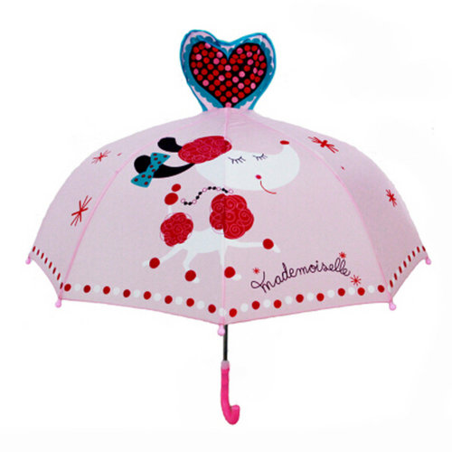 Childrens  Rainy Day Umbrella /Bright colors/Kids Umbrella?Love Pets