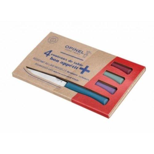 Opinel Bon Appetit 4 Piece Table Knife Box Set - Glam