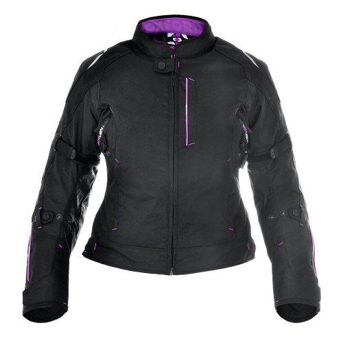 Oxford Girona Purple Womens Short Motorcycle Jacket