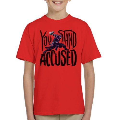 Marvel Guardians Of The Galaxy You Stand Accused Ronan Kid's T-Shirt
