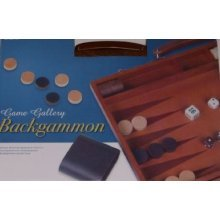 Cardinal Games Game Gallery Wood Backgammon