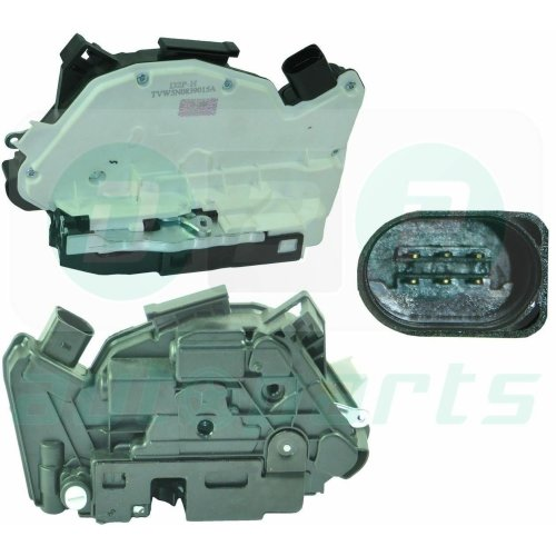 Rear Left Door Lock Mechanism for Audi A1 (2011-2014) 5N0839015A, 5N0839015D