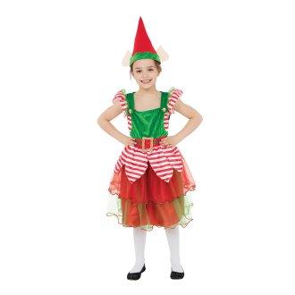 Bristol Novelty Childrens/Girls Elf Girl Costume