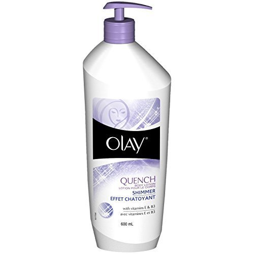 Olay Quench Daily Lotion Plus Shimmer - 20.2 oz