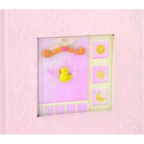 Ivy Lane Design 203BG 100 Photo Baby Album - Pink