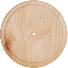 "Pine Wood Clock Face-11"" Round - Use 700P & 800P Movements"